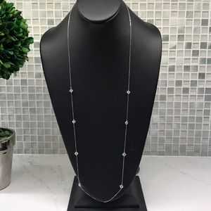 Nadri NEW (K) Elegant Diamond (cz) Necklace